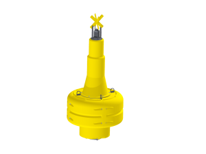 NN1900 yellow navigation buoy