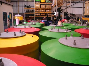NN1500 and NN1800 buoys ready for delivery