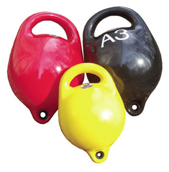 Inflatable pick up buoys