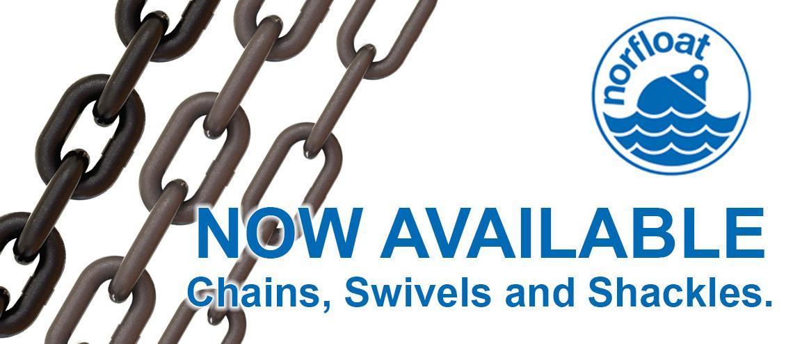 Chain, Swivels & Shackles
